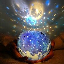 Desinger LED Nachtlicht Sternenhimmel Magic Star