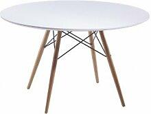 DESKandSIT Designer-Tisch rund 110 cm sa122002