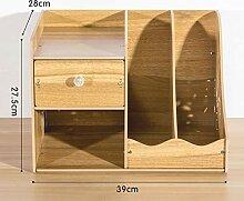 Desktop-Aufbewahrungsbox aus Holz Bürobedarf