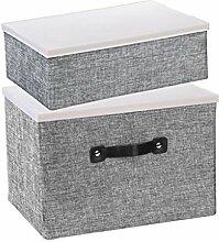Desktop Aufbewahrungsbox, Wohnzimmer Faltbare Tuch