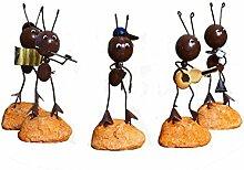 Desktop Dekoration Ant Band Harz Metall Dekoration Dekoration Geschenk,Asetof5shapes