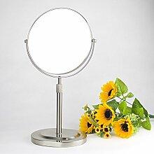 Desktop doppelseitiger Spiegel Kosmetikspiegel Bad Spiegel 6 Zoll