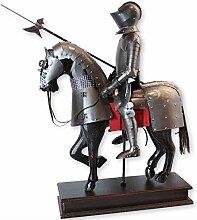 Desktop Knight Statue, mittelalterliche