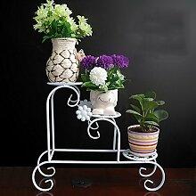 Desktop Multi-Blumentöpfe Regal, Eisen mehrstöckige Blume Rack, Mini-Blumen-Rack, Balkon Boden Blumenständer