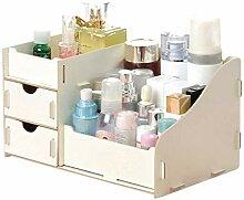 Desktop Organizer Holz Aufbewahrungsbox Kosmetik