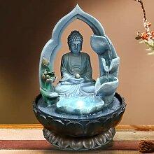 Desktop Ornamente Südostasien Wasser Brunnen