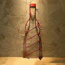 Desktop-Skulptur Europäische Retro Weinregal