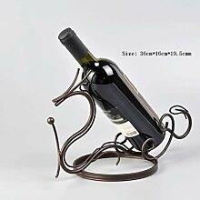 Desktop-Skulptur Kreative Weinregal Europäischen