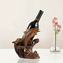 Desktop-Skulptur Weinregal Ornamente Weinschrank