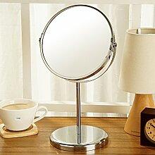 Desktop-Spiegel Zoom Kosmetikspiegel HD zweiseitige Spiegel Büro Schreibtisch Spiegel-A