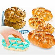 Dessertform rund oval Brotpresse Formen Haushalt