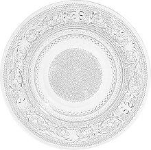 Dessertteller aus Glas CLASSICA, D 18 cm