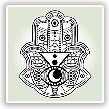 DestinationVinyl #10484 Vinyl-Aufkleber, indisches