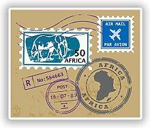 DestinationVinyl #10588 Vinyl-Aufkleber Afrika, 25