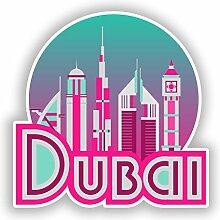 DestinationVinyl #10696 Dubai Vinyl-Aufkleber für