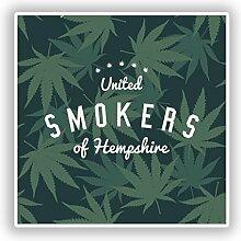 DestinationVinyl #10751 Vinyl-Aufkleber Smokers of
