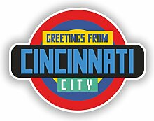 DestinationVinyl Cincinnati #10352 Vinyl-Aufkleber
