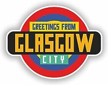 DestinationVinyl Glasgow #10353 Vinyl-Aufkleber