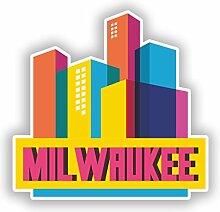 DestinationVinyl Mil Waukee Skyline