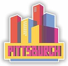 DestinationVinyl Pittsburgh Skyline