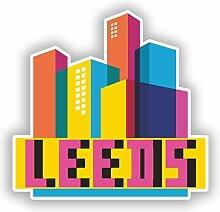 DestinationVinyl Vinyl-Aufkleber #10311 Leeds
