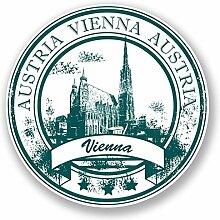 DestinationVinyl Vinyl-Aufkleber Wien Österreich