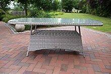 Destiny Gartentisch Luna 180x100 Oval Tisch