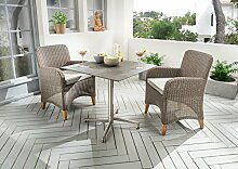 Destiny Long Island Sessel - Loft Tisch Balkonset
