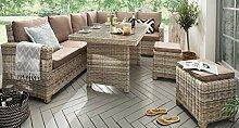 Destiny Loungegruppe Alcudia Mixed Beige Lounge