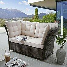 Destiny Loungesofa Palma Vintage Braun Lounge Sofa