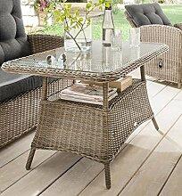 Destiny Loungetisch Merano Vintage Grau Tisch