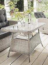 Destiny Loungetisch Merano Vintage Weiß Tisch