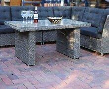 Destiny Loungetisch Riviera 140 x 80 Grau Lounge