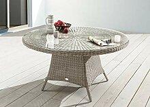 Destiny Tisch Luna Vintage Weiß 120 cm