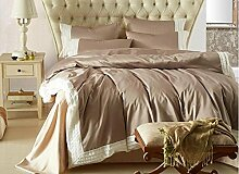 DESY Amerikanische einfache Bettwäsche, Seide vierteilige, im europäischen Stil Baumwolle Bett Bettwäsche Bettwäsche , 2 , king