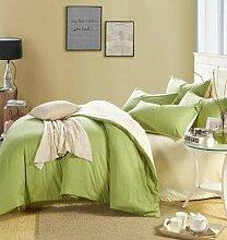DESY Hochwertige und neue vierteilige, einfache Bettwäsche Bettwäsche Steppdecke, Bettwäsche Kissenbezug , 2 , queen