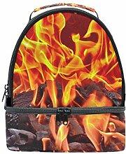 Desziro Lunch-Tasche, Feuerholz