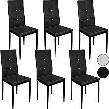 Deuba 6X Esszimmerstühle Stuhl Hochlehner