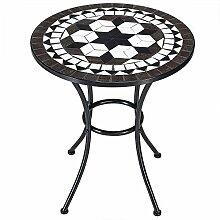Deuba Bistrotisch Oriental Mosaik Tisch Ø 60 cm