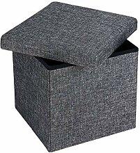 Deuba Faltbarer Sitzhocker Sitzwürfel mit