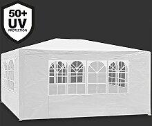 Deuba Festzelt Maui 3x4m Weiß   12m² Pavillon