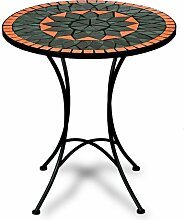 Deuba Mosaiktisch Terracotta Bistrotisch Mosaik