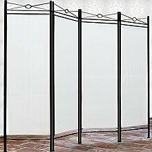 Deuba® Paravent Lucca 180x163cm | 4 Trennwände