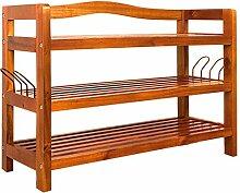 Deuba Schuhregal Schuhschrank Holz I 3 Etagen I
