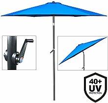 Deuba® Sonnenschirm • Ø 200cm • UV-Schutz