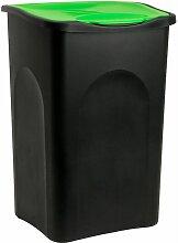 Deuba - Stefanplast Mülleimer 50 L mit
