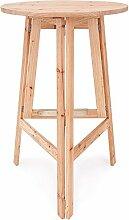 Deuba Stehtisch klappbar aus Holz Ø 78 cm -