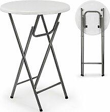 Deuba Stehtisch Tisch Gartentisch klappbar