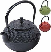 Deuba® Teekessel Teekanne Gusseisen 1250 ml