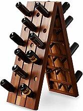 Deuba Weinregal Flaschenregal Holz Für 36
